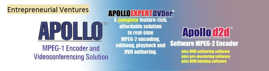 Apollo MPEG-1, MPEG-2 Encoders