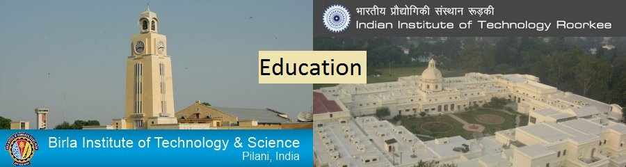 BITS Pilani, Indian Institute of Technology Roorkee