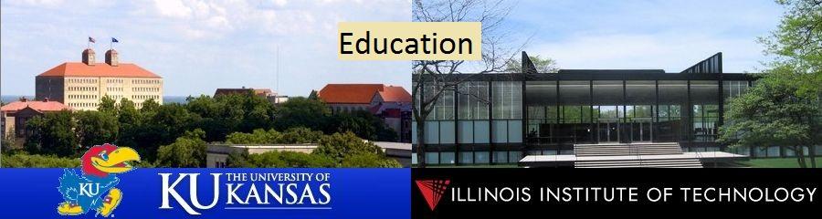 University of Kansas, Illinois Institute of Technology